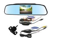 Free shipping! 3.5inch digital TFT LCD screen mirror Wireless Rearview camera NO.603-W