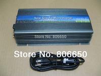 1000W 12V-110V micro grid tie inverter for solar home system, MPPTfunction Grid tie power inverter