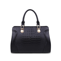 2013 new winter fashion women's fashion leather handbag crocodile pattern leather handbags Messenger Bag Business