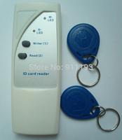 125Khz RFID Copier Writer Duplicator Copy ID Card for EM4100 EM4305 T5577 and compatible card or tag + 15pcs EM4305 Rfid Tag