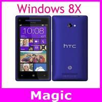 HTC Windows Phone 8X C620e unlocked original cell phones 4.3 inch Touch Screen 8MP camera 8/16GB storage Free Shipping