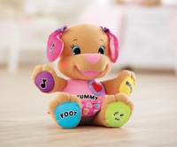 FP Laugh & Learn Love to Play Puppy children stuffed  musical toy - pink Dog