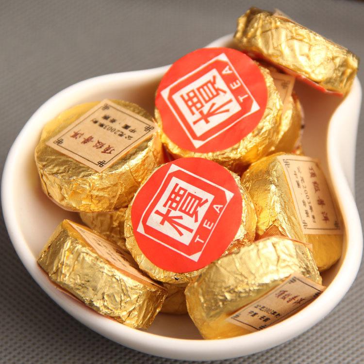 pu53 pomotion Pu er Cooked tea Top Quality mini tuo tea 10years old mini tuo Jia