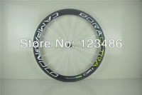 FREE SHIPPING! campagnolo Bora two 3D white and green 50mm 700c 20-24H novatec carbon bikes wheelset !carbon fiber wheels