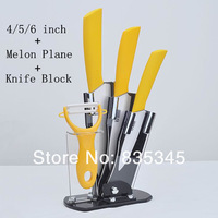 100% Authentic Ceramic Knife / Kitchen Wujiantao / Zirconia materials / 4/5/6 inch Set