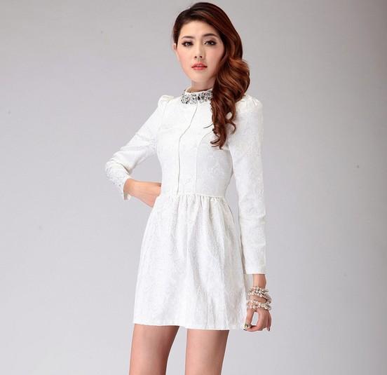 Cute Casual White Dresses
