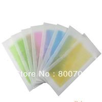 Free Shipping ! 500 Pcs / Lot New Depilatory Wax Strips Wax Waxing Strips Hair Removal Paper Wax Pad Patch