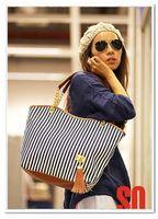 Top Fashion Japan korea Street Snap Candid Tote Shoulder Bag Women Handbag Linen
