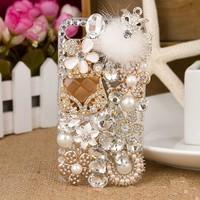New fashion Luxury sachet fox Free Shipping phone bag case for iphone 5 case for iphone 5s free shipping