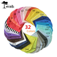 Free shipping 32 colors (1lot=32pieces) solid baby hat baby cap  Infant Hats Skull Caps Toddler Boys & Girls gift hats caps