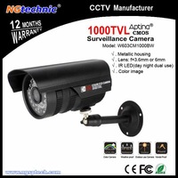 "Hot sale! 1000tvl HD Suveillance Camera with 1/3"" Sensor   1280*700 Pixel Dual IR-Cut Optical Filter  36IR Leds Night Vision"