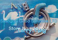 Shattaf ( light blue color) Handheld Bidet / Portable Sprayer Diaper Sprayer TS078L-Br-SET  head+Braided hose+bracket+bolts