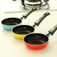 Free shipping pans griddles and grill pans Colorful mini flat anti-hot pot fry pan egg dumplings omelettes non stick frying pan