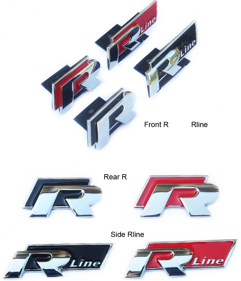 Golf Car Logo Car Metal r Logo Rline