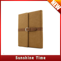 free shipping new briefcase style leather case for ipad 4 3 2, fashion cover business PU Leather Stand Case for iPad 2 3 4