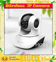 2PCS  Vstarcam T6835 TF/Micro SD Card Slot IP Camera Wireless P2P Plug and Play IR Cut Night Vision Pan/Tilt Two Way Audio Wifi