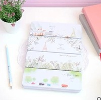 Korea stationery pencil box brief tin pencil case vintage pencil case school supply  items
