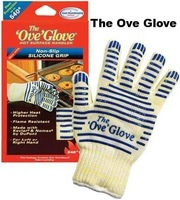 Free shipping 200PCS  ove glove hot surface handler ,Microwave oven Glove with Non-Slip Silicone Grip