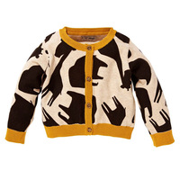 2014 new autumn and winter children clothing girls sweater outerwear coat jacket fashion thick 2-10T cartoon junior