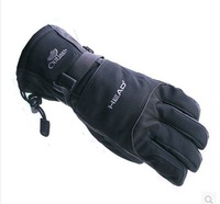 Standard brands MEN'S ski gloves Waterproof cold resistant ski gloves Free shipping