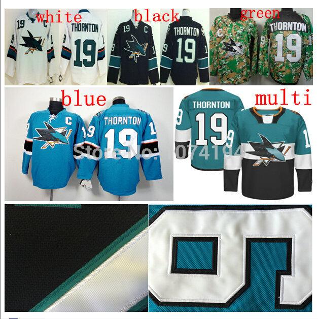 Ice Hockey jerseys #19 100% dhl free shipping synthetic embroidery ice hockey jerseys wholesale