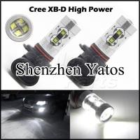 2pcs CREE 60W SMD LED Car Fog light  9005 Car Turn Signal Reverse Tail Light Bullb