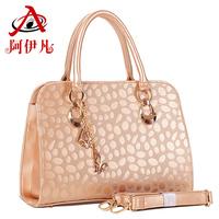 Bags  women's handbag fashion metal color fashion one shoulder bag women handbag messenger bag