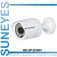 SunEyes ONVIF  2.0MP 1920*1080P Full HD Mini IP Camera Outdoor IP66 Waterproof IR CUT Night Vision Aptina  9P006 SP-Q1801
