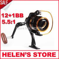 Free shipping 3000 series carp fishing reel metal spool spinning reel sale for feeder fishing 2015 new