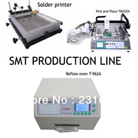 Limited offer-SMT  line,reflow oven T-962A,pick and place machine TM220A,Manual solder printer,High performance,low cost