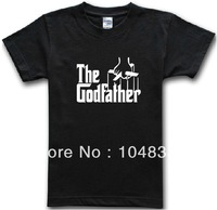 american movie film the godfather short-sleeve T-shirt men's fashion cotton plus size  t-shirts t shirt men tee camisas top