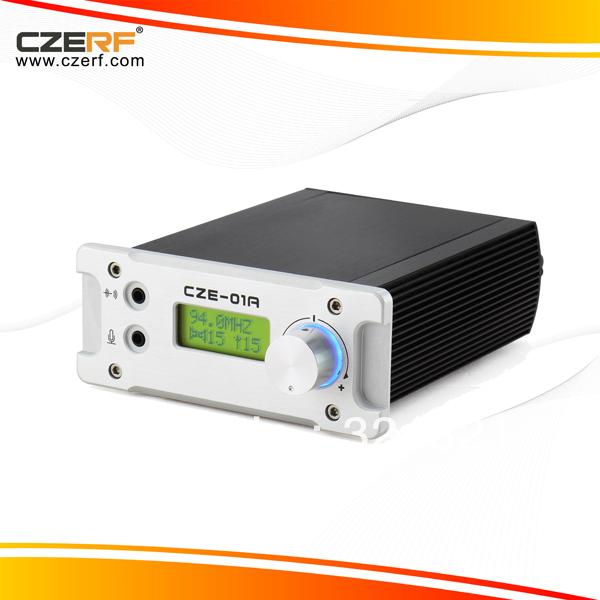 Free Shipping CZE-01A 1w Audio Power Amplifier Broadcast Radio FM Transmitter(China (Mainland))