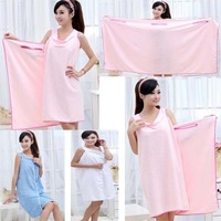 Free shipping Womens sexy Creative Magic bath towel fiber solid Washcloths bathrobes Beach Dress Adult Bath Skirt
