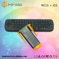 cx919II Android TV Box Quad Core Mini PC J22 RK3188 2GB 8GB CX-919 II Bluetooth HDMI TV Sticks CX 919 II + RC11 fly Mouse