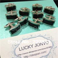 MOQ 50 pairs/lot New arrival exlusive Titanium steel MEN'S CUFFLINKS 100% guaranteed groom cuff links Rectangular cufflinks