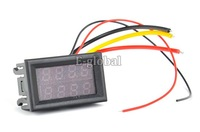 6pcs/Lot Wholesale LED Digital Volt Meter Voltage Meter Panel Meter Voltmeter Ammeter AMP Power Meter DC 0V - 100V TK1212