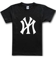 new York baseball shirt women tee T shirt men plus size casual printed T-Shirt Personalized european size tees camisas top