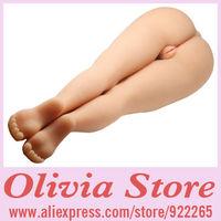 Realistic Scale Leg Sex Doll with Vagina,Anus and Feet Details,Full Soft Silicone,105cm long,Fulfil Leg Sex Fantasy,Masturbator
