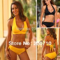 New Arriva swimsuit Promotion!sexy bikini with cup fashion sexy swimwear sexy women' s solid FZ 138