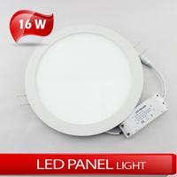 16W Circular panel light LED Ultrathin panellight AC85~265V warm white/cold white high brightness 2835SMD