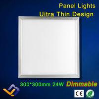 24W LED Panel Light 300*300 AC85-265V Warm White Cool White For Parlour kitchen bathroom corridor celling lamp