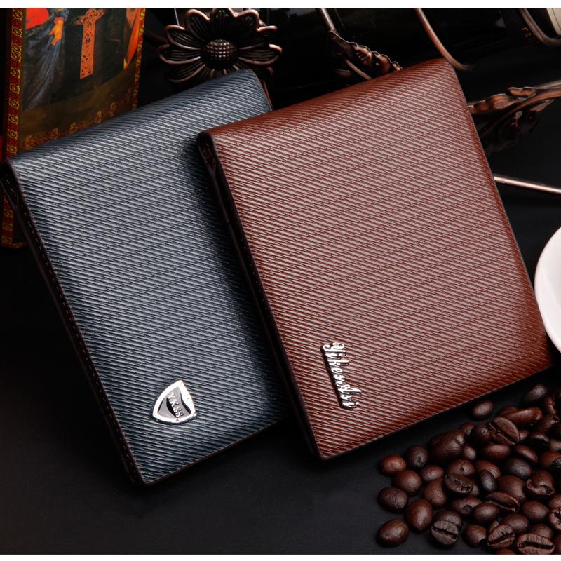 2014 новый мужской бумажник огне полоса мода кошелек ...
