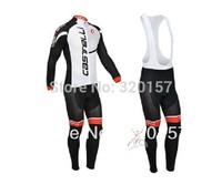 castelli ciclismo bicicleta mountain bike maillot winter Warm Fleece Thermal clothing Bicycle bike cycling Jersey + bibs pants