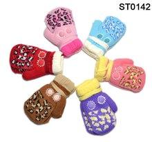wholesale kids knit mittens