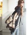 Новая волна 2013 три сумки на плечо девушки корейского Холст мешок плеча Сумки школьные Zara сумочка.