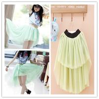 retail 1pcs girls skirt  girl tutu skirts children pettiskirt clothes 2 colors
