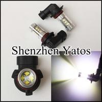 2pcs High power 80W CREE H4/H7/H8/H9/H11/H10/H16/9005/9006/P13W foglight Car LED Fog light