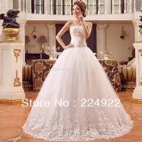 Bride Bandage Lacing 2014 Laciness Bow Wedding Dress 2014