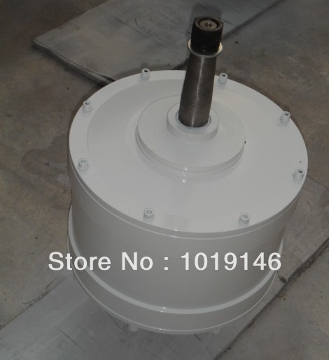 Factory outlet using vertical axis (VAWT) permanent magnet generator (PMG)3000w(China (Mainland))