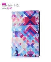 100% PU Leather Protective Case Flower Cover Folding Case Sleep Function For iPad MINI/ Mini 2 7 Designs